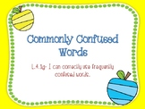 Commonly Confused Words- L.4.1g