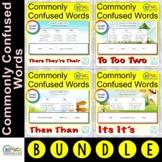 Commonly Confused Words MEGA BUNDLE (GOOGLE Slides & print