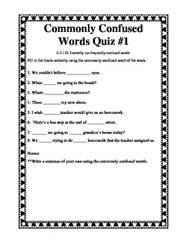 Commonly Confused Words Our vs. Are