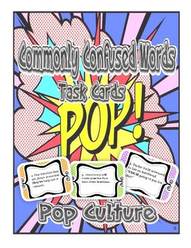 Commonly Confused Words--Pop Culture