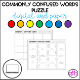 Commonly Confused Words Puzzle | Digital and Print | Dista