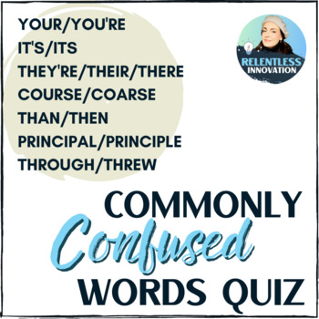 Commonly Confused Words Quiz 1
