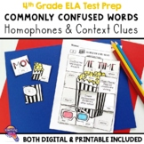 Commonly Confused Words Secret Picture Tiles Review Activity