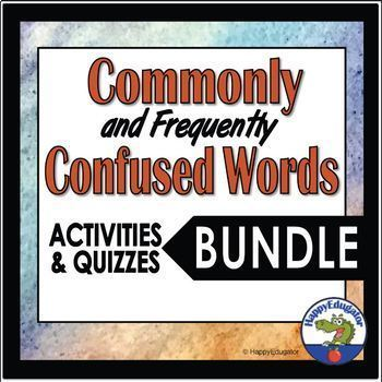 Commonly Confused Words and Frequently Confused Words Bundle