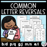 Common Letter Reversals Practice Pack