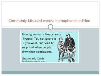 Commonly Mis-used Words