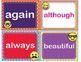 Commonly Misspelled Words Homophones - Flash Cards and Task Cards L.4.1g L.4.2d