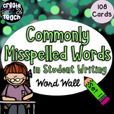 Commonly Misspelled Words Word Wall (New Product: 50% off/