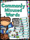 Commonly Misused Words Game - 30 Task Cards