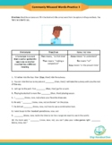 Commonly Misused Words Practice 1   Fillable PDF   Than, T