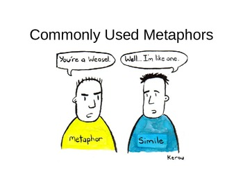 Commonly Used Metaphors