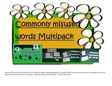 Commonly misused words Literacy Center THREE GAME MULTIPAC