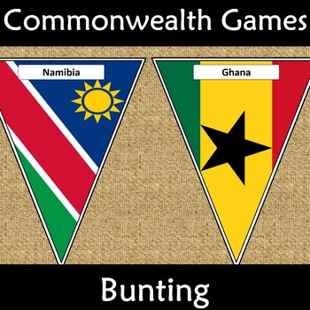 Commonwealth Games 2018 Bunting Display