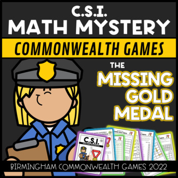 Commonwealth Games 2018 CSI: The Case of the Missing Gold Medal STEM activity