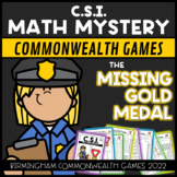 Commonwealth Games 2018 CSI: The Case of the Missing Gold