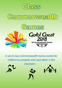 Commonwealth Games 2018 - Class Competitions