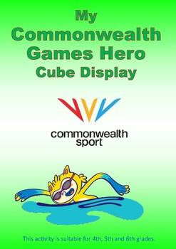 Commonwealth Games 2018 - Hero Cube