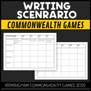 Commonwealth Games 2018 Scenario Writing First Person