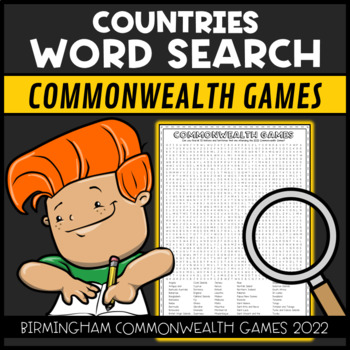 Commonwealth Games 2018 Word Search Find
