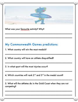 Commonwealth Games Activity Passport