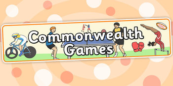Commonwealth Games Display Banner