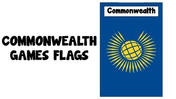 Commonwealth Games Flags - Bunting - Poster
