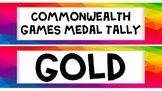 Commonwealth Games Medal Tally 2018 Gold Coast