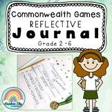 Commonwealth Games Reflective Journal  Flipbook - Grade 2 - 6