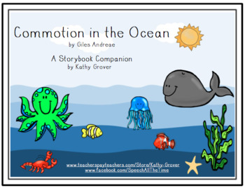 Commotion in the Ocean Storybook Companion