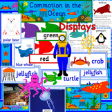 Commotion in the Ocean book study pack- sea life, seaside