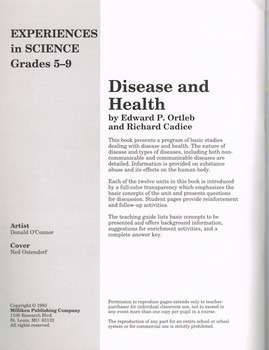 Communicable Disease Transparency Book (Soft Cover)