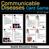Health Lesson: Communicable Diseases Card Game - Play With This Real Deck!
