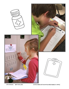 Communicable and Non Communicable Diseases Informational Text and Activity