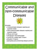 Diseases (communicable and non-communicable)