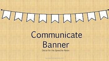 Communicate Banner