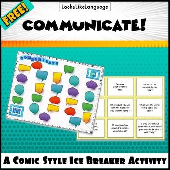 Communicate A Free Ice Breaker Game