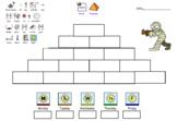Communicate in Print Editable Word Pyramid