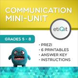 Assertive Communication Middle School Mini-Unit | Prezi & Printable Activities
