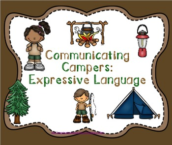 Communicating Campers: Expressive Language Pack