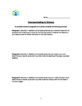 Communicating Effectively In Science
