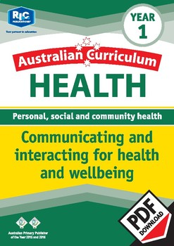 Communicating and interacting for health and wellbeing – Year 1