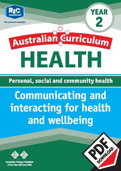 Communicating and interacting for health and wellbeing – Year 2