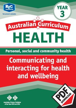 Communicating and interacting for health and wellbeing – Year 3