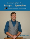 Communication 101: Essays & Speeches