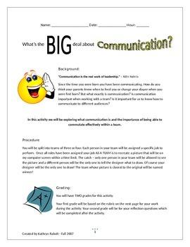 Communication Activity