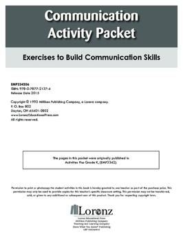 Communication Activity Packet