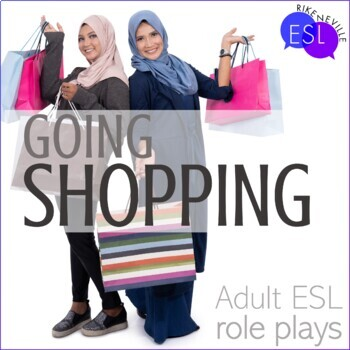 Role Plays for ESL Adults:  Shopping