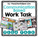 Communication Based Work Task Mega Pack