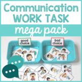 Communication Based Work Task Mega Pack