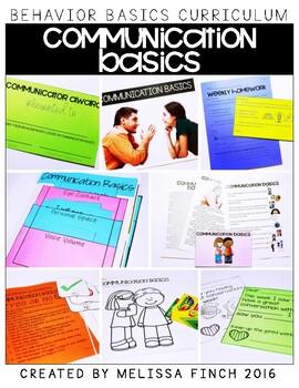 Communication Basics-  Behavior Basics Program for Special Education